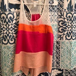 Summer dressy tank top